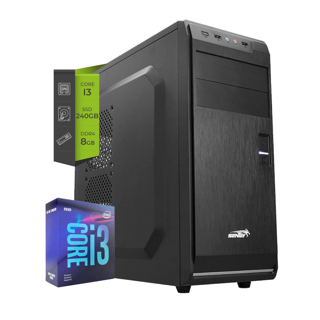 Pc Intel I3 10100 SSD 240Gb 8Gb