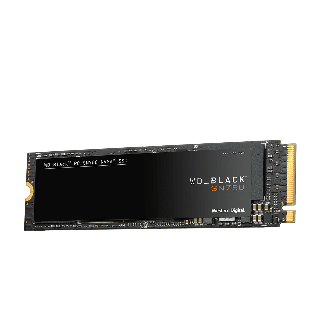 Disco Solido SSD 500 Gb WD M2 Nvme SN750 Black