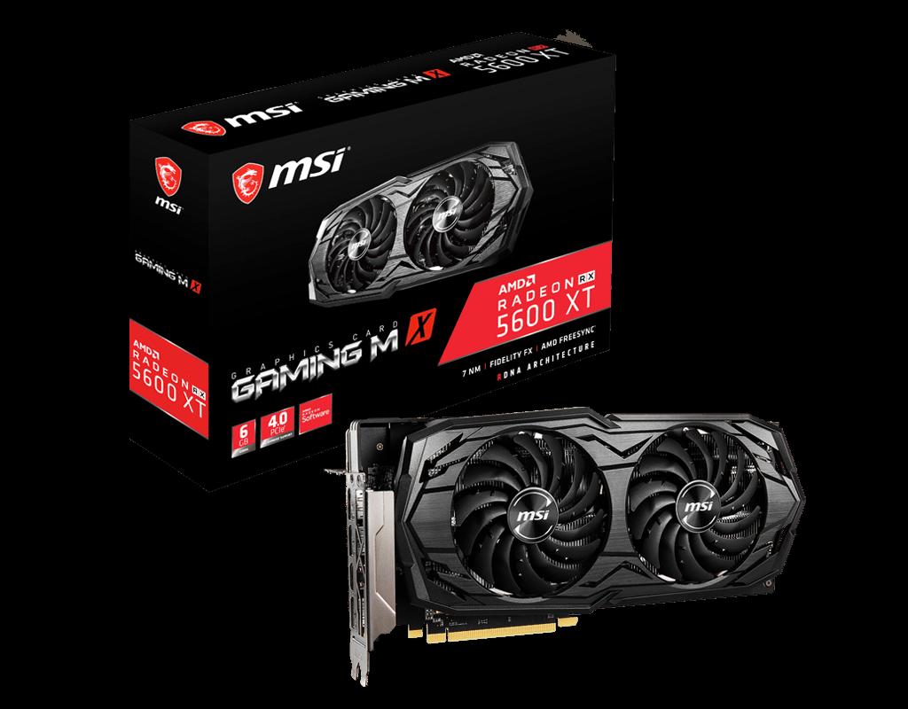 tarjeta grafica AMD RADEON RX 5600 XT