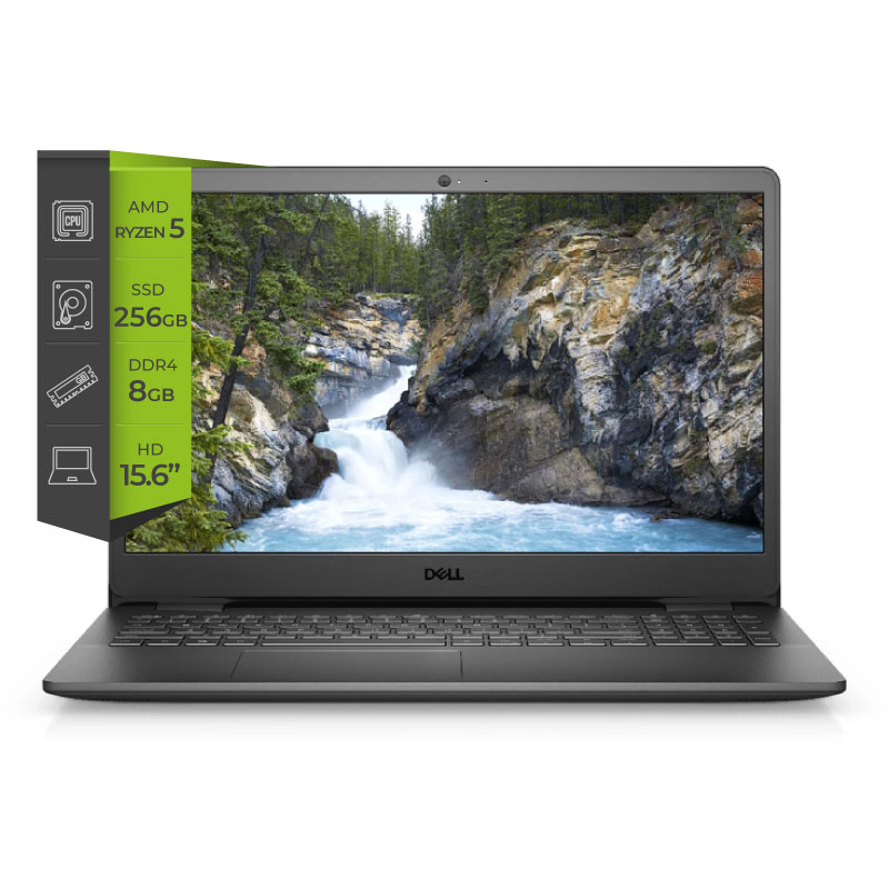 Notebook Dell Inspiron 3505 Ryzen 5 3450u 8Gb SSD 256Gb 15.6