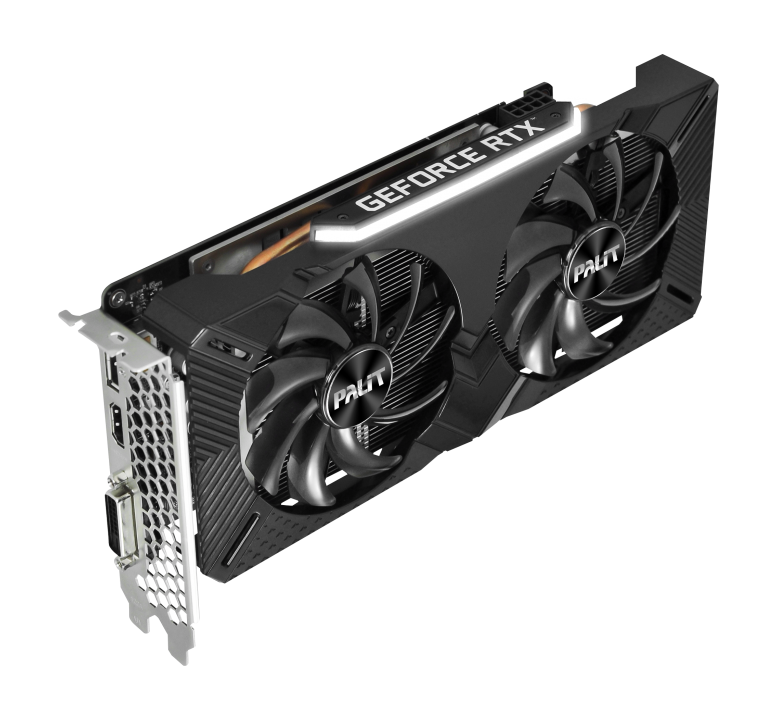 Placa De Video Palit Nvidia Geforce Rtx 2060 Dual 6Gb
