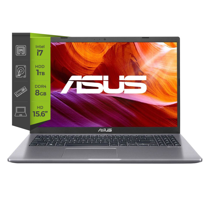 Notebook Asus X509JA-BQ041 i7 1065G7 8Gb 1Tb 15.6