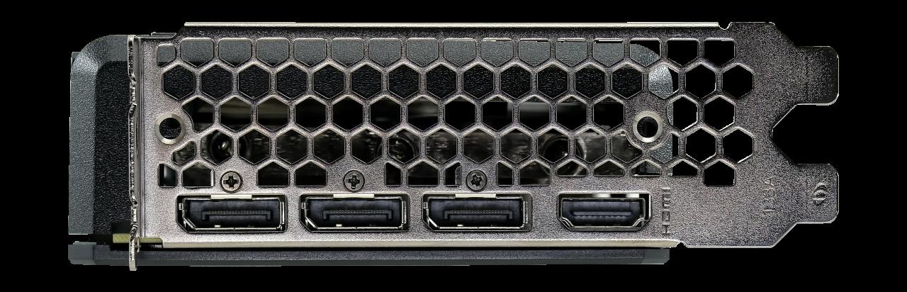 Placa De Video Palit Nvidia GeForce RTX 3060 Dual OC 12Gb Gddr6 LHR