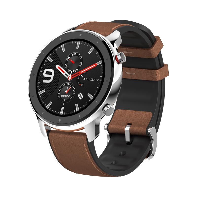 Smartwatch Amazfit GTR 47mm Acero Inoxidable GPS