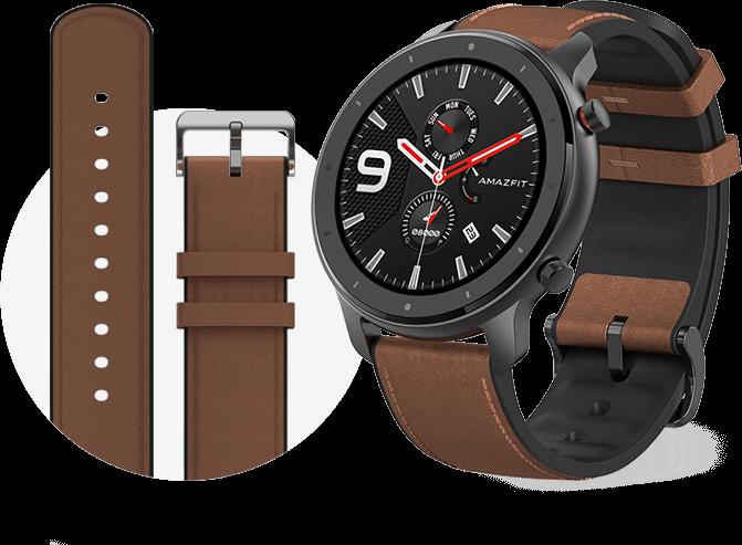 Smartwatch Amazfit GTR 47mm Aluminio GPS