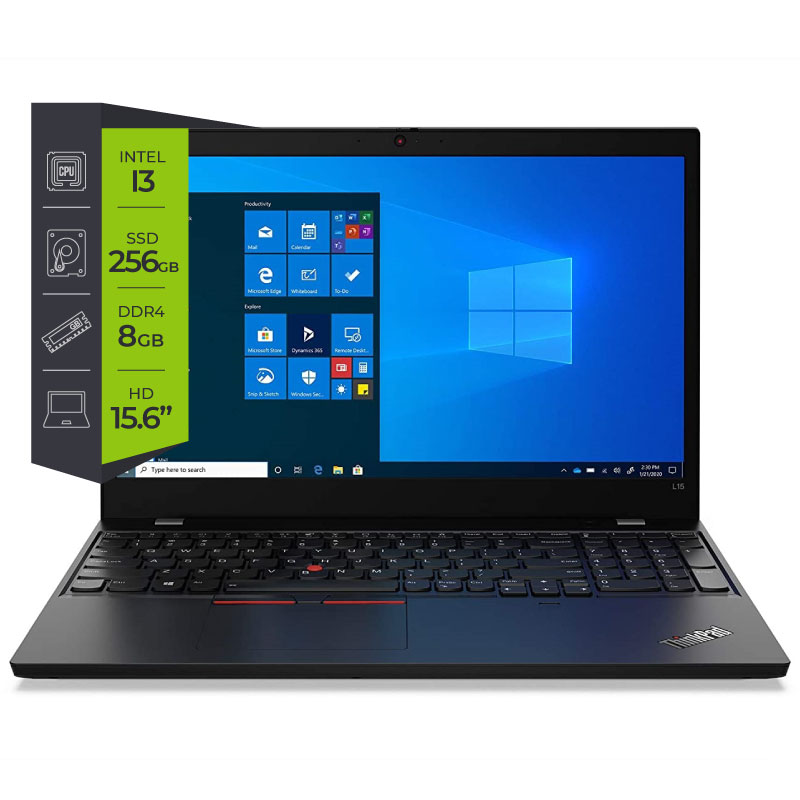 Notebook Lenovo Thinkpad L15 Core i3 10110U 8Gb Ssd 256G 15.6
