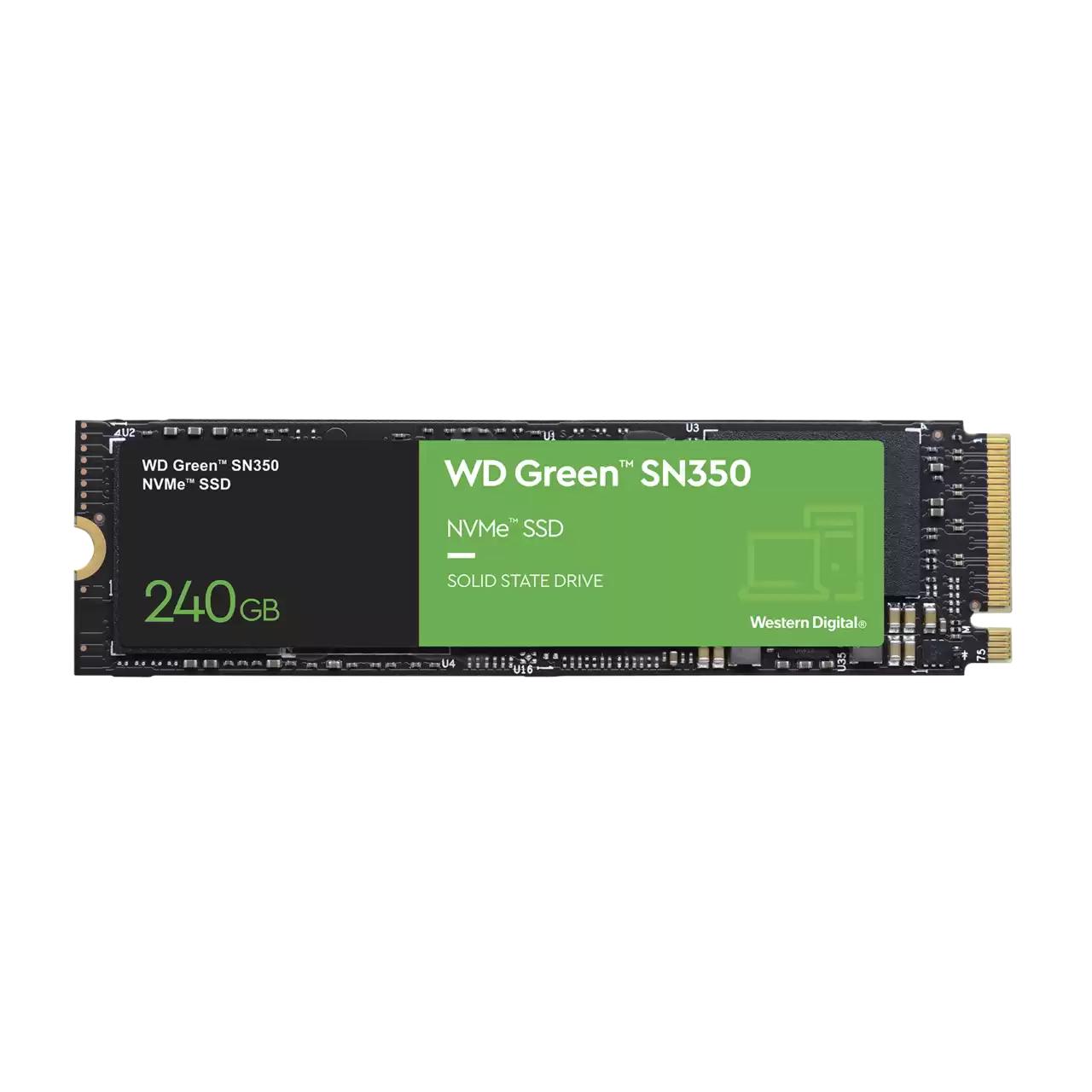 Disco De Estado Solido SSD 240Gb Western Digital WD Green NVME SN350 2400mb/s