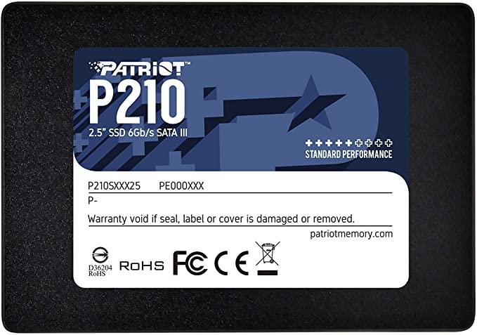 Disco De Estado Solido SSD 256 Gb Patriot P210