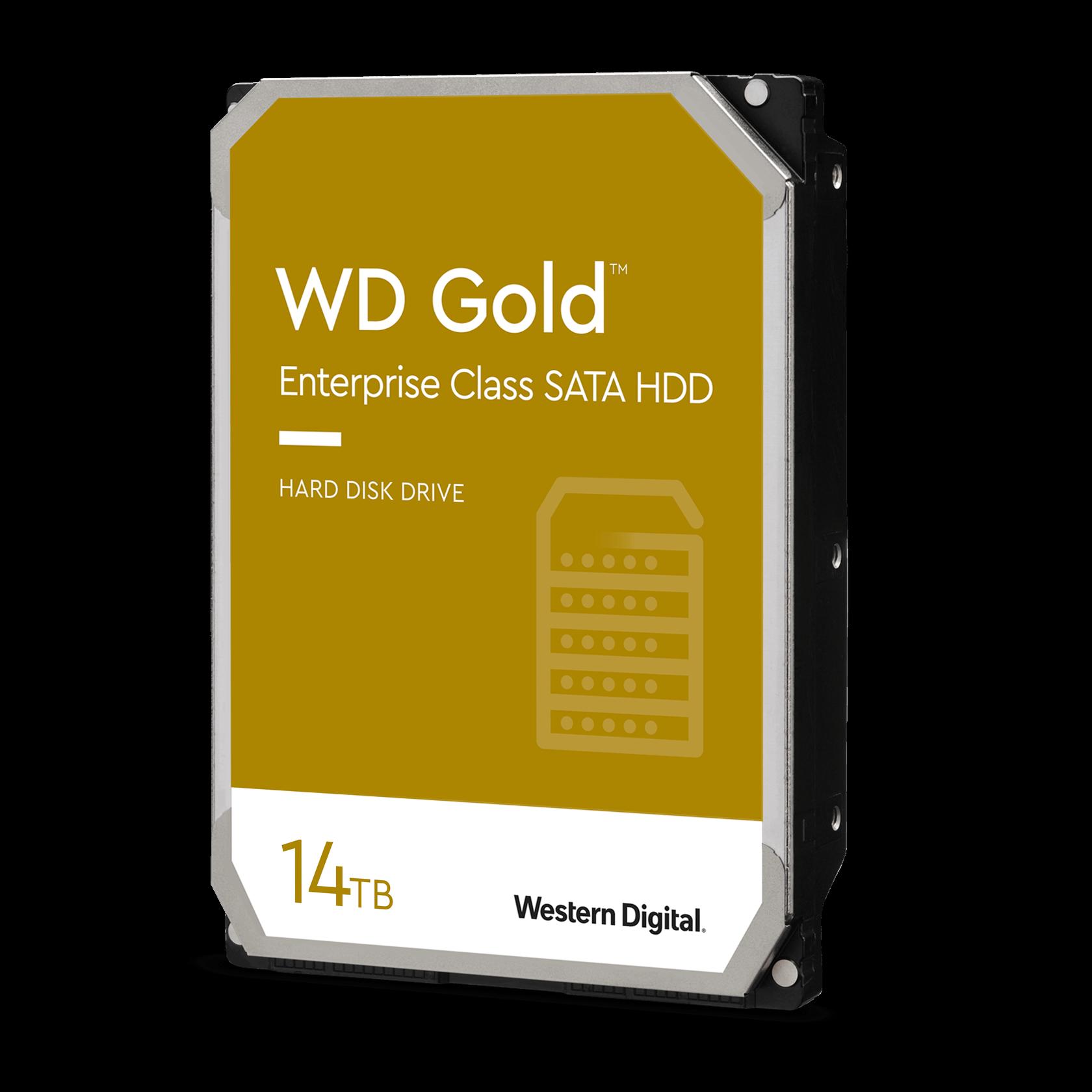 Disco Duro HDD 14 Tb Western Digital WD Gold Sata III