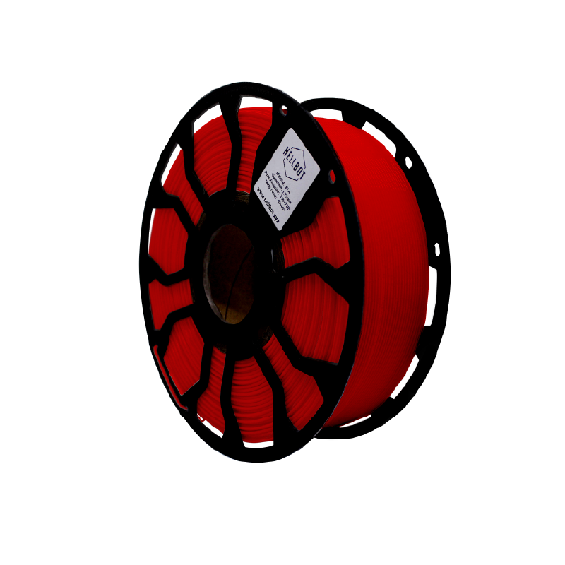 Filamento Hellbot EcoFila PLA Rojo 1.75mm 1Kg