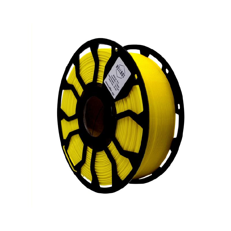 Filamento Hellbot EcoFila PLA Amarillo 1,75mm 1Kg