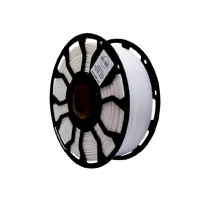 Filamento Hellbot EcoFila PLA Blanco 1,75mm 1Kg