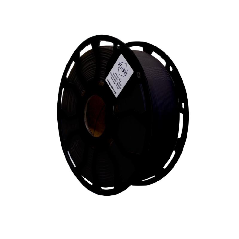 Filamento Hellbot EcoFila PLA Negro 1.75mm 1Kg