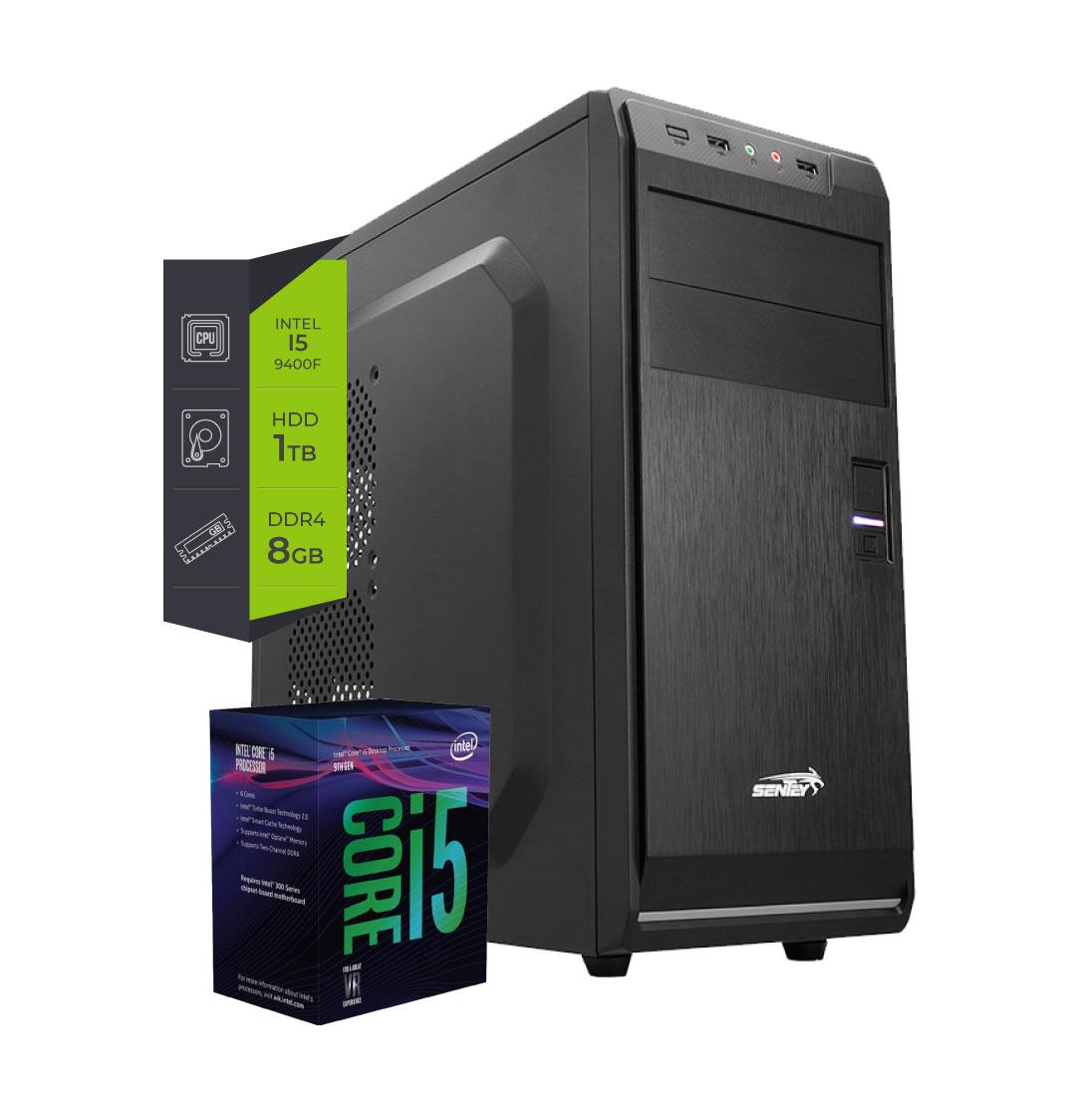 Pc Intel Core i5 9400F - 8Gb 1Tb