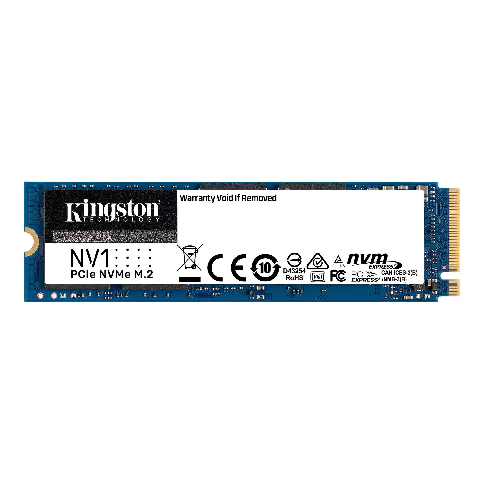 Disco Solido SSD 1Tb Kingston M2 Nvme 2280 NV1 2100Mb/s