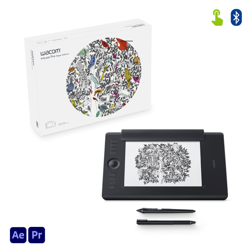 Tabla Digitalizadora Wacom Intuos Pro Paper Pth660p Medium