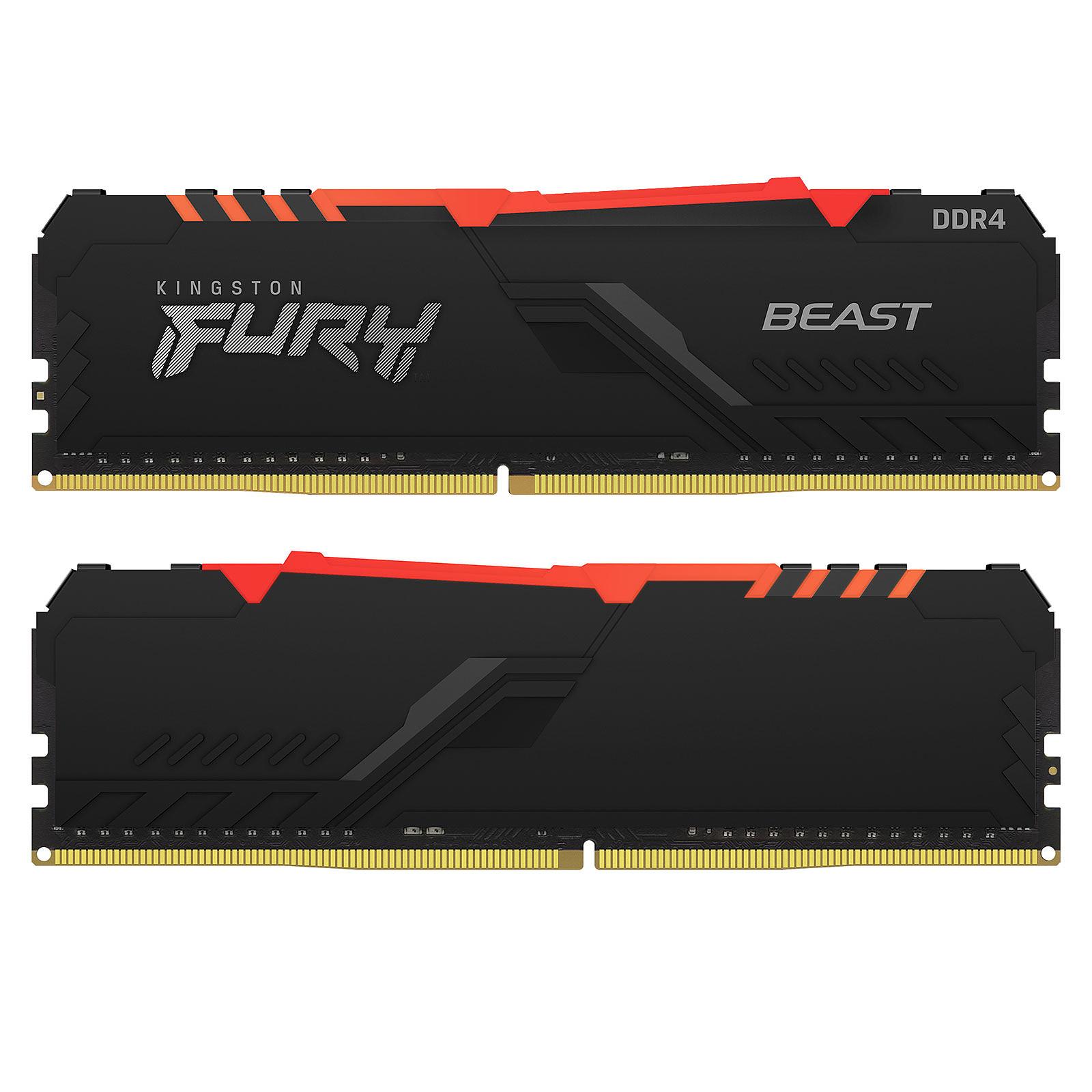 Memoria Ram DDR4 8Gb 3200Mhz Kingston Fury Beast RGB