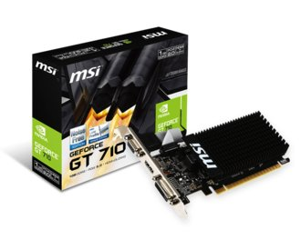 Placa de Video Msi Geforce Gt710 1gb Ddr3
