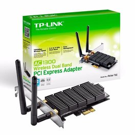 Placa Red Pci-E Tp-Link Archer T6e Ac1300 Dual Band