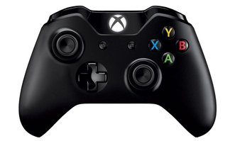 Joystick Xbox One Wireless Negro C/Adaptador