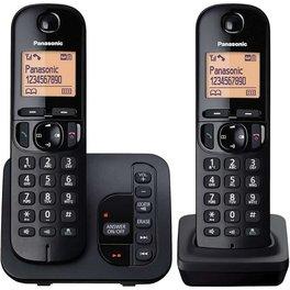 TELEFONO INALAMBRICO PANASONIC KXTGC222AGB CONTES Y CALL ID