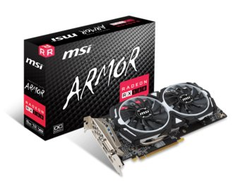 Placa de Video MSI Rx 580 Armor 8G Oc