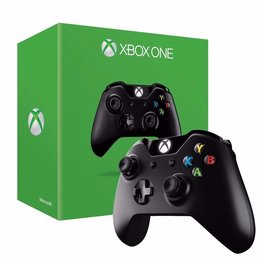 Joystick XBOX ONE Inalambrico Negro S/Adaptador XboxOne-PC