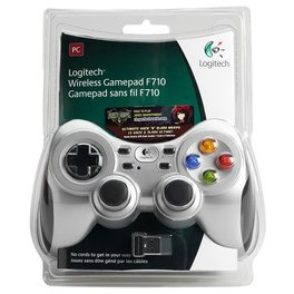 Joystick Logitech F710 Wireless Gamepad c/Receptor PC
