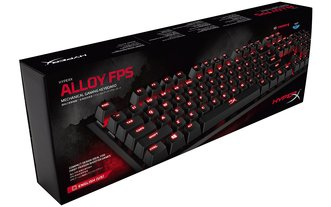 Teclado Hyperx Alloy Fps Mecanico Cherry MX Red Esp