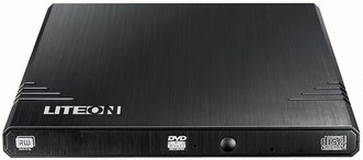 Grabadora de DVD USB Externa Lite-ON 8X Black