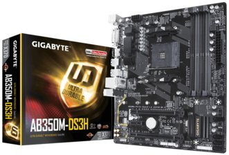 Motherboard Gigabyte AB350M-DS3H AM4