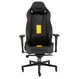 Silla Gamer Corsair T2 Road War Black Yellow