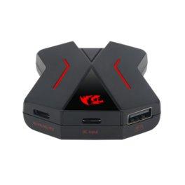 HUB REDRAGON ERIS DA-200 USB PS4 / XBOX ONE / SWITCH / PC / PS3