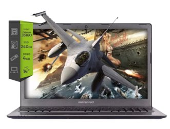 Notebook Bangho Zero M4 Intel J3160 4G SSD-240G 14