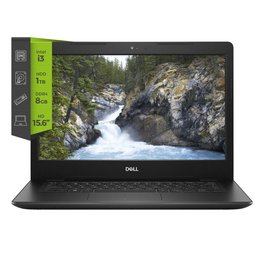 Notebook Dell Inspiron 3581 i3 7020u 8Gb 1Tb SSD120 C/Dvd 15.6