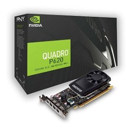 Placa de Video 2Gb Quadro P620 PNY GDDR5 4X MDP LP