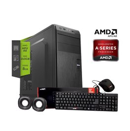 Pc Amd Apu A8 9600 - Ssd 240Gb - 8gb Ram