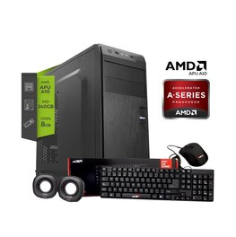 Pc Amd A10 9700 Am4 8gb Ssd 240GB