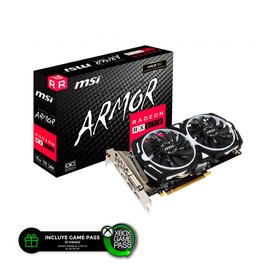 Placa de Video MSI Ati Radeon RX 570 4GB Armor OC