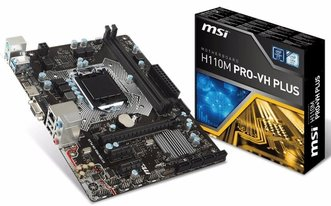 Motherboard MSI 1151 H110M PRO-VH Plus