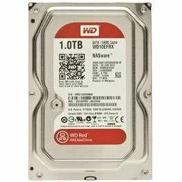 Disco Duro HD 1 Terabyte Western Digital RED SATA 3 64Mb