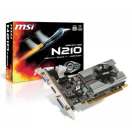 Placa de Video MSI Nvidia Geforce GT 210 LP 1Gb DDR3