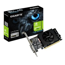 Placa de VIdeo GIGABYTE Nvidia GeForce GT710 1Gb DDR5