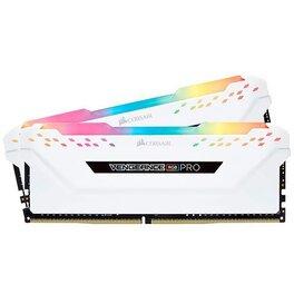 MEMORIA RAM DDR4 16GB 2666MHZ CORSAIR VENGEANCE PRO RGB WHITE...