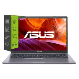 Notebook Asus X509JA-BQ668 i3 1005G1 4Gb 1Tb 15.6