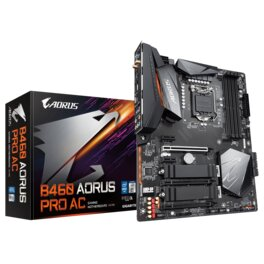 Motherboard Gigabyte B460 Aorus Pro AC S1200