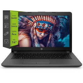 Notebook HP 240 G7 Celeron N4000 4Gb 500Gb 14