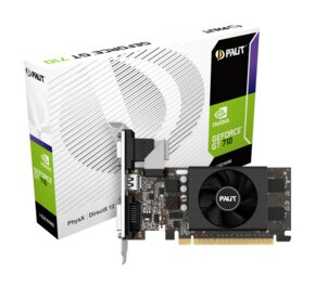 Placa De Video Palit Nvidia GeForce Gt710 2Gb Ddr3