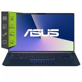 Notebook Asus Zenbook Ux433 i5 10210u 8G Ssd 512Gb 32Gb GeForce MX 250-2G 14