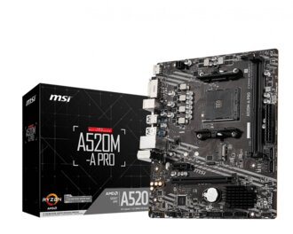 MOTHERBOARD MSI A520M-A PRO AM4